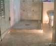 Limestone shower tray