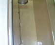 Crema marfil shower slabbed surround