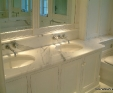 Statuary Vein marble bathroom