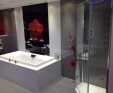 Silestone bath surround