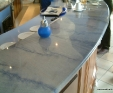 Azul Macaubas granite counter top