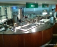 Angola Black servery counter