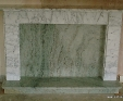 Carrara marble fire surround