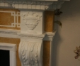special commissioned fireplace detail