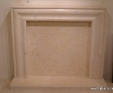 Jerusalem Yellow stone fire surround