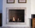 Jerusalem Ramon Limestone fireplace surround