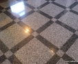Granite floor pattern