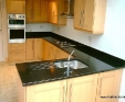 Black Granite Kitchen Worktop