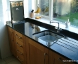 Nero Cosmos granite kitchen worktop