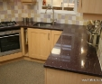 Starlight Violet engineered quartz worktop
