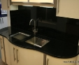 Nero Assoluto black granite worktops