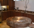 Maron Imperial marble kitchen worktop