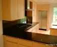 Nero Assoluto granite kitchen worktops