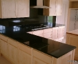 Nero Assoluto (Black) granite kitchen worktps