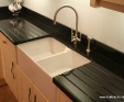 Nero Cosmos granite worktop