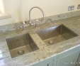Verde Eucalyptus granite kitchen