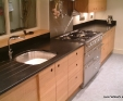 Nero Assoluto (black) honed granite