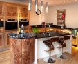 granite kitchen worktop Bang and Olufsen showroom Newcastle