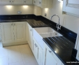 Nero Assoluto (black) granite