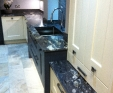 Granite Kitchen Worktops in Cosmic Black