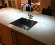 Silestone kitchen worktop in Blanco City 2cm