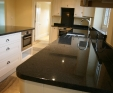 granite kitchen worktop in Impala granite