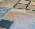 Granite paver set
