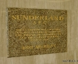 Giallo Veneziano granite engraved plaque