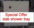Large Limestone Shower Tray