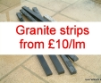 granite strips - excellent for garden paving adornment