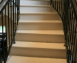limestone staircase with Bullnose edges