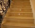 Jerusalem Antique Gold Limestone Staircase