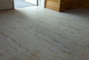 honed marble stone floor